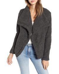 Blank NYC - Tweedy Knit Coat - Lyst
