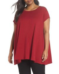 Eileen Fisher - Scoop Neck Tunic - Lyst