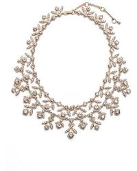 Givenchy - Crystal Collar Necklace - Lyst