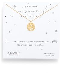 Dogeared - You Are Every Nice Thing Magic Pendant Necklace - Lyst