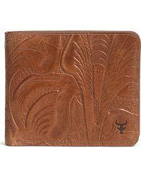 Trask - 'jackson' Slimfold Italian Steer Leather Wallet - Lyst