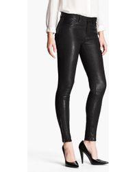 J Brand - '8001' Lambskin Leather Pants - Lyst