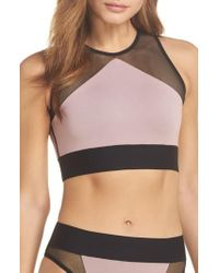 Ultracor - Adrift Sport Mesh Bikini Top - Lyst