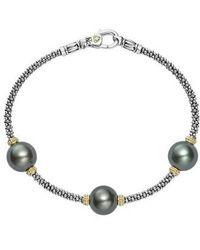 Lagos - Luna Pearl Rope Bracelet - Lyst