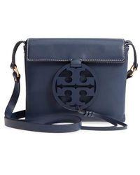 Tory Burch - Miller Leather Crossbody Bag - - Lyst