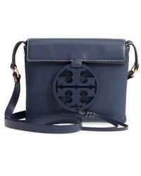 Tory Burch - Miller Leather Crossbody Bag - Lyst