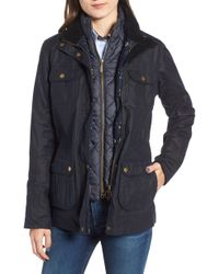 Barbour - Chaffinch Water Resistant Waxed Cotton Jacket - Lyst