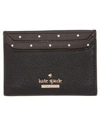 Kate Spade - Blake Street - Dot Lynleigh Leather Card Case - - Lyst