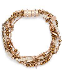 Treasure & Bond - Layered Charm Bracelet - Lyst
