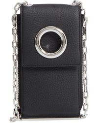 Alexander Wang - Riot Leather Wallet On A Chain - Lyst