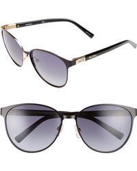 Max Mara - Diamov 59mm Gradient Cat Eye Sunglasses - - Lyst