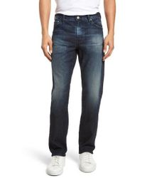 AG Jeans - Everett Slim Straight Fit Jeans - Lyst