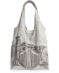 Nordstrom - Packable Print Shopper - - Lyst