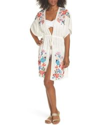 Echo - Wildflower Cover-up Tunic - Lyst