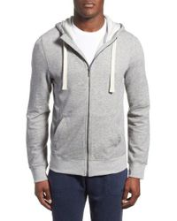 2xist - 'terry' Cotton Blend Zip Hoodie - Lyst