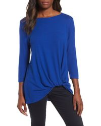 Gibson - Cozy Twist Front Pullover - Lyst