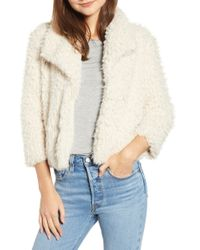 BB Dakota - Hugs Don't Lie Faux Fur Coat - Lyst