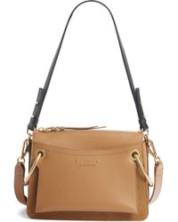 Chloé - Small Roy Leather Shoulder Bag - - Lyst
