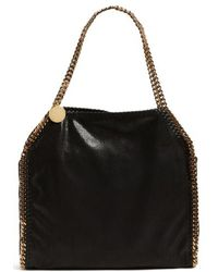 Stella McCartney - 'small Falabella - Shaggy Deer' Faux Leather Tote - Lyst