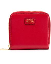 Frances Valentine - Roosevelt Small Calfskin Leather Wallet - Lyst