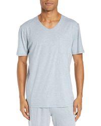 Daniel Buchler - V-neck Cotton & Modal T-shirt - Lyst