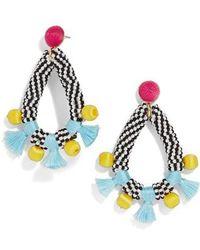 BaubleBar - Beaded Sardinia Drop Earrings - Lyst