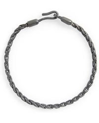 Caputo & Co. - Sterling Silver Chain Rope Bracelet - Lyst