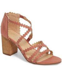 Matisse - Aiden Block Heel Sandal - Lyst
