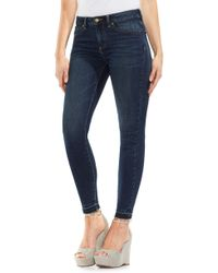 Vince Camuto - Release Hem Skinny Jeans - Lyst