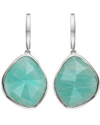 Monica Vinader | Siren Nugget Semiprecious Stone Drop Earrings | Lyst