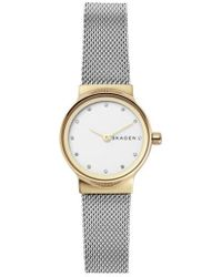 Skagen - Women's Freja Stainless Steel Bracelet Watch 26mm - Lyst