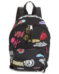 Vetements - Mini Embroidered Sticker Backpack - - Lyst