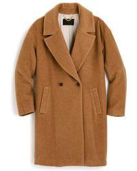 J.Crew | J.crew Maxine Camel Hair Coat | Lyst