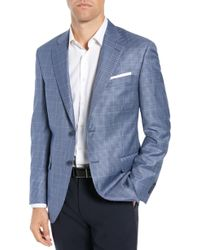 Peter Millar - Classic Fit Houndstooth Sport Coat - Lyst