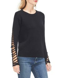 Vince Camuto - Cutout Sleeve Sweater - Lyst