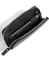 Shinola - Signature Lea Leather Continental Wallet - - Lyst
