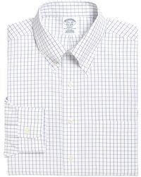 Brooks Brothers - Regent Regular Fit Check Dress Shirt (3 For $207) - Lyst