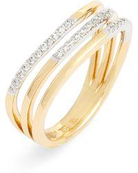 Bony Levy Triple-row Diamond Ring (nordstrom Exclusive)