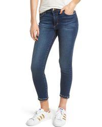 Joe's - Flawless - Icon Crop Skinny Jeans - Lyst