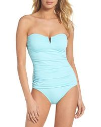 Tommy Bahama - 'pearl' Convertible One-piece Swimsuit - Lyst