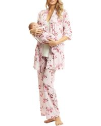 Everly Grey - Analise During & After 5-piece Maternity/nursing Sleep Set - Lyst