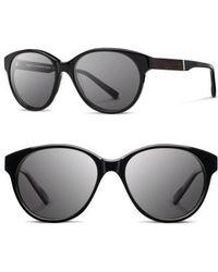 Shwood - 'madison' 54mm Round Sunglasses - Lyst