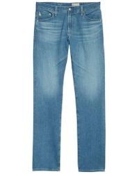 AG Jeans - Everett Slim Straight Leg Jeans - Lyst
