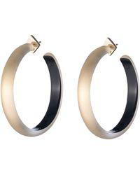 Alexis Bittar - Large Hoop Earrings - Lyst
