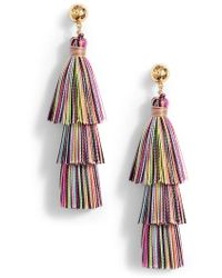 Gorjana - Havana Tassel Earrings - Lyst