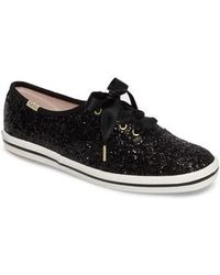 Kate Spade - Keds For Kate Spade New York Glitter Sneaker - Lyst