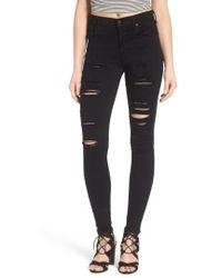 Agolde - Sophie High Waist Skinny Jeans - Lyst