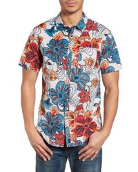 Billabong - Sundays Floral Shirt - Lyst