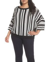 Sejour - Stripe Pullover - Lyst