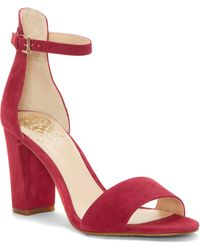 52f97584605c Lyst - Vince Camuto Corlina Ankle Strap Sandal (women) (nordstrom ...
